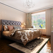 奢华新古典四居室欣赏卧室