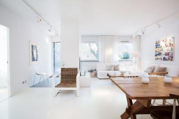 白色温馨宜家住宅欣赏客厅效果