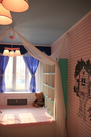 粉丝简约小屋欣赏卧室窗户