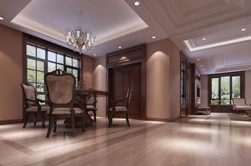 118平新古典三居室欣赏餐厅餐桌