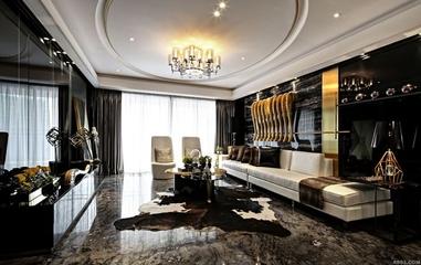 新古典奢华样板房欣赏客厅设计