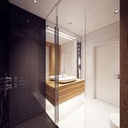 卫生间吊顶设计效果图 时尚现代风