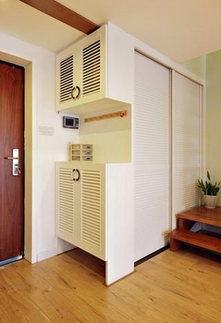 日式风写意复式楼欣赏入户厅