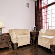 中式客厅装饰图