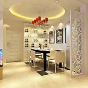 创意餐厅吊顶设计效果图 精美简欧家居