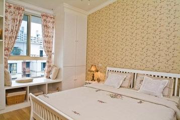 125平地中海复式楼欣赏卧室