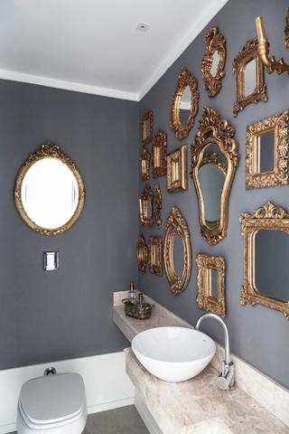 让人留恋的奢华公寓欣赏洗手间