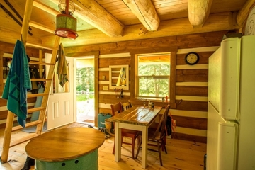 林中小屋美式住宅欣赏