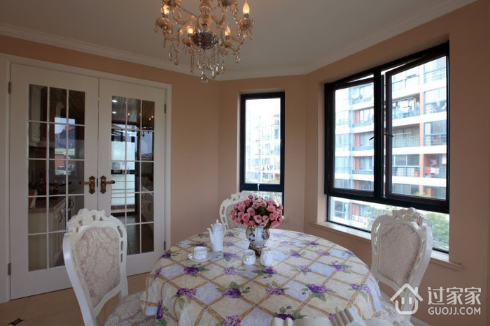110平美式三居室欣赏