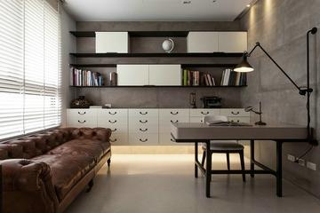 书房书架设计效果图 简约家居