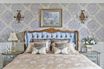 打造奢华欧式别墅欣赏卧室局部