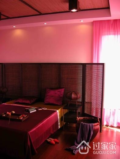 东南亚复式卧室全景效果