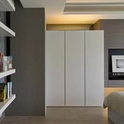 现代风三居室设计欣赏卧室吊顶