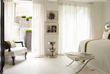 白色混搭雅居别墅欣赏卧室局部