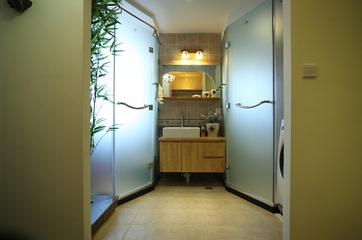 58平老房变身记欣赏洗手间