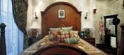 田园风格效果卧室正视图