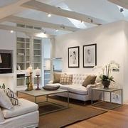 白色现代阁楼设计案例欣赏