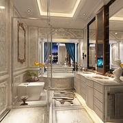 法式贵气样板间欣赏卫生间