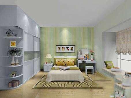 一,嵌入式卧室壁橱   卧室壁橱其实就是嵌入在墙体里的图片