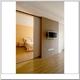 现代住宅样板间卧室门