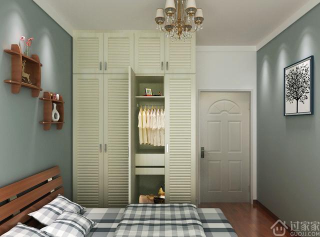 卧室衣柜要用平开门还是推拉门?听完老师傅分析,后悔我家用错了