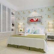 82平简约温馨住宅欣赏卧室设计