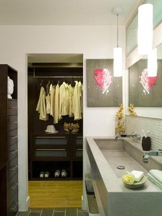 现代风格装饰赏析卫生间
