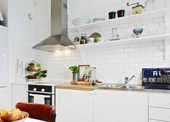34平白色北欧住宅欣赏