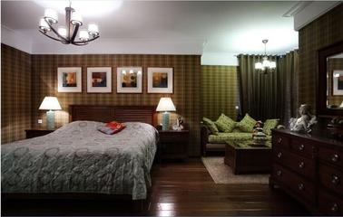 古色古香混搭住宅欣赏卧室设计