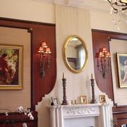 欧式风格别墅背景墙挂饰