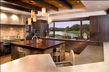 美式温馨度假别墅欣赏厨房
