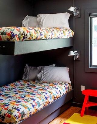180平混搭别墅设计效果图儿童房