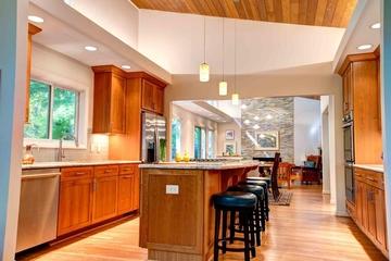 美式风格别墅套图厨房吧台