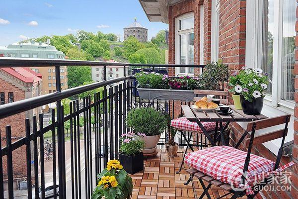 阳台花园的设计技巧及施工要点
