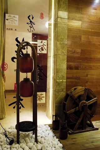 奢华欧式风别墅茶室装饰
