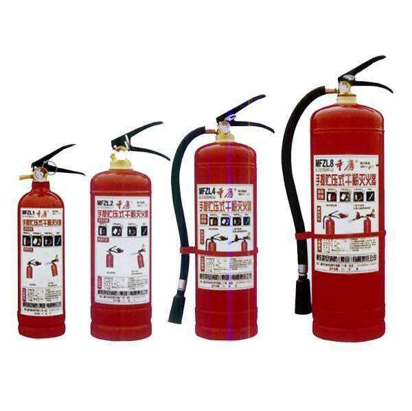 消防器材有哪些 教你安全使用灭火器
