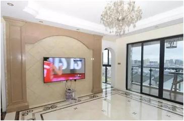 新房装修瓷砖要选好,欧式宫廷的设计造型感很强