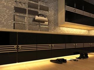 89平现代气质住宅欣赏入户厅