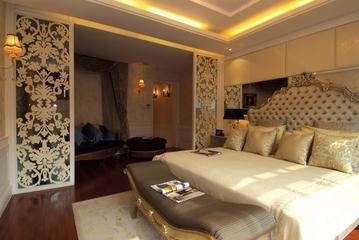 欧式样板房卧室装修图