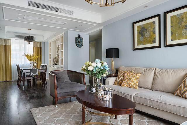 晒晒闺蜜家134㎡3房2厅,电视背景墙用护墙板比石膏线还美!