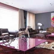 让人留恋的奢华公寓欣赏客厅陈设