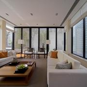 豪华现代风玻璃窗户效果图