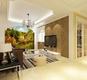 极简主义 简约客厅背景墙装修