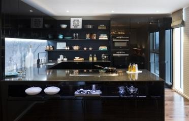 现代艺术公寓住宅欣赏厨房效果