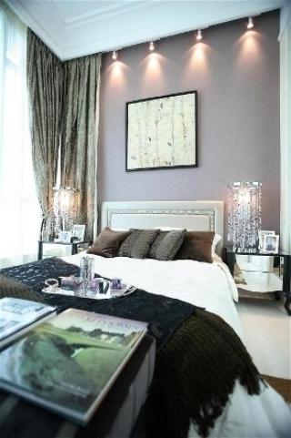 新古典三居室案例设计欣赏卧室窗帘