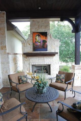 美式风格别墅装饰图露台