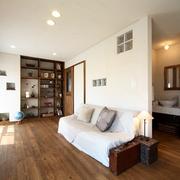 日式风格效果图设计赏析沙发背景墙