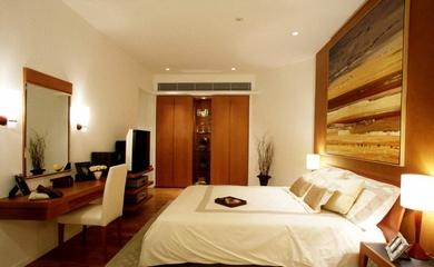 98平简约舒适住宅欣赏卧室设计