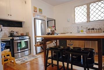 舒适田园自由住宅欣赏厨房全景