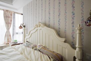 98平东南亚温馨住宅欣赏卧室设计